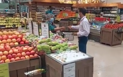 Nick Tells the Climate Truth at Whole Foods Boca Raton