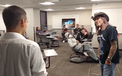 Nick Disrupts UFC Class to Tell the Truth about the Climate Emergency